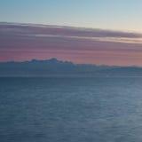 Il lago di Costanza ed alpi svizzere Fotografie Stock Libere da Diritti