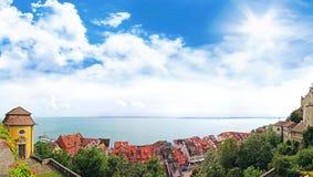 Il lago di Costanza, Meersburg Fotografie Stock