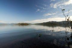 Il lago di yate Immagini Stock