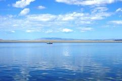 Il lago ha strappato-Khol Fotografie Stock