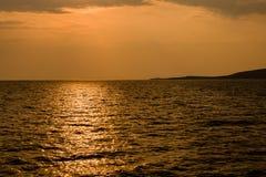 Il lago Kariba nello Zimbabwe Sudafrica fotografia stock