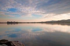 il lago kunming Fotografia Stock Libera da Diritti