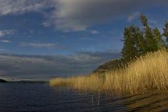 Il lago Ladoga, Carelia, Russia fotografia stock libera da diritti