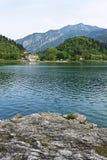 Il lago Ledro Fotografia Stock Libera da Diritti