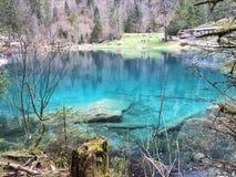 Il lago magico immagine stock