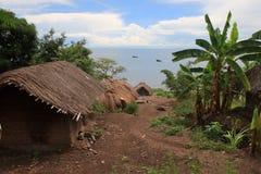 Il lago Malawi (lago Nyasa) Fotografia Stock Libera da Diritti