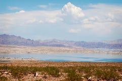 Il Lago Mead variopinto nel Nevada Fotografia Stock Libera da Diritti