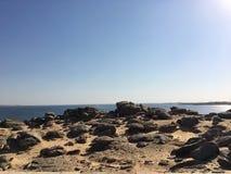 Il lago Nasser, Egitto Fotografia Stock