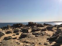 Il lago Nasser, Egitto Fotografia Stock Libera da Diritti