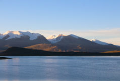 Il lago nel Tibet Immagine Stock Libera da Diritti