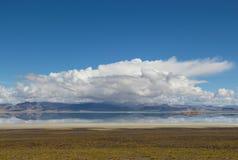 Il lago nel Tibet Immagini Stock Libere da Diritti