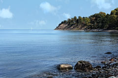 Il lago Ontario Fotografia Stock
