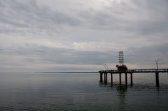 Il lago Ontario - Burlington - il Canada Immagini Stock