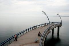 Il lago Ontario - Burlington - il Canada Immagine Stock Libera da Diritti