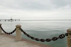 Il lago Ontario - Burlington - il Canada Fotografia Stock Libera da Diritti