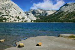 Il lago poco profondo Fotografia Stock