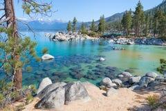 Il lago Tahoe Immagini Stock