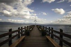 Il lago Tahoe Immagine Stock