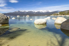 Il lago Tahoe fotografie stock