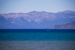 Il lago Tahoe, sierra Nevada Mountains California 2 Fotografie Stock Libere da Diritti