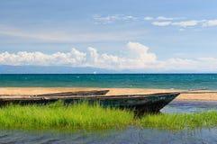 Il lago Tanganica, Tanzania fotografie stock libere da diritti