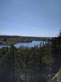 Il lago trascura Fotografia Stock Libera da Diritti