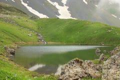 Il lago verde Abudelauri (Georgia) Fotografie Stock Libere da Diritti