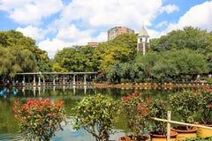 Il lago verde kunming Immagine Stock Libera da Diritti