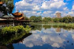 Il lago verde kunming Fotografia Stock Libera da Diritti