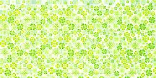 Il laisse le fond vert frais d'arbre Photos libres de droits