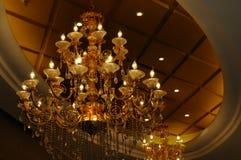 Il lampadario a bracci del pendente Immagini Stock