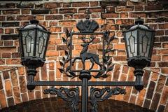 Il lampione antico Fotografie Stock