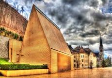 Il Landtag del principato del Liechtenstein Fotografie Stock Libere da Diritti