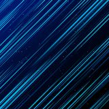 Il laser blu della tecnologia astratta rays la luce e gli effetti della luce d illustrazione di stock