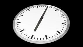 Il lasso di tempo analogico dell'orologio zumma illustrazione di stock