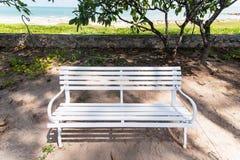 Il lato bianco del banco la spiaggia thailand fotografie stock