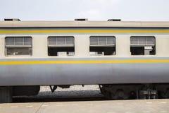 Il lato del treno Fotografia Stock Libera da Diritti