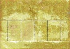 Il lato posteriore dei francobolli Immagine Stock Libera da Diritti