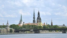 Il Latvia, Riga, Fotografia Stock