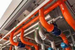 Il tubo. Fotografia Stock