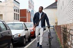 Il lavoro dei pantaloni a vita bassa permuta Immagine Stock Libera da Diritti