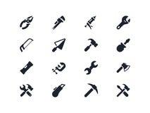 Il lavoro foggia le icone Serie di Lyra Immagine Stock