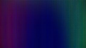 Il LED si accende dal pannello della visualizzazione del monitor del computer per il modello grafico del sito Web progettazione d immagini stock