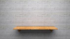 Il legno accantona Fotografie Stock Libere da Diritti
