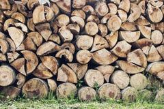 Il legno annota la priorità bassa Fotografie Stock Libere da Diritti