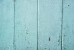 Il legno blu ruvido di colore si imbarca sulla struttura fotografie stock