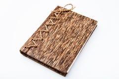Il legno della palma ha coperto il libro Immagine Stock Libera da Diritti