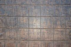 Il legno della Tabella si imbarca sugli scacchi Immagine Stock