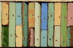 Il legno di colore Fotografia Stock Libera da Diritti