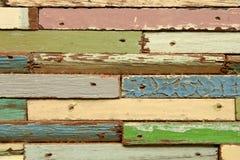 Il legno di colore Immagini Stock Libere da Diritti